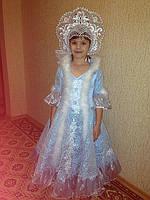 Новогодний костюм Снегурочка прокат Киев