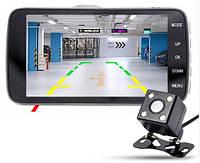 Автомобильный видеорегистратор с 2 камерами  T5