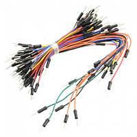 Набор соединительных проводов 65 штук