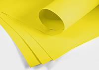 Фоамиран иранский флористический 60х70 см, желтый