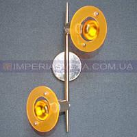 Поворотный спот светильник для освещения стен и потолков  двухламповый KODE:325512