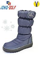 Детская обувь оптом.Зимние дутики для девочек от ТМ.Jong Golf(LadaBB) разм (с 33-по 38)