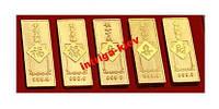 Слиток богатства с иероглифом 1 шт - 34 грн