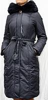 Пальто зимнее женское CLARA FEIA с утеплителем тинсулейт