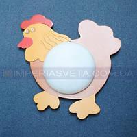 Бра светильник на стену в комнату ребенка одноламповый декоративный KODE:334231