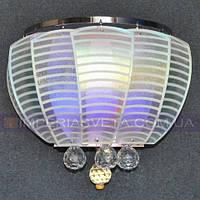 Бра на стену LED светодиодное двухламповое со светодиодной подсветкой KODE:505560