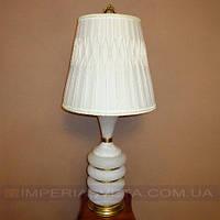 Лампа настольная в декоративном стиле светильник одноламповый с абажуром KODE:352155