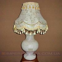 Лампа настольная в декоративном стиле светильник одноламповый с абажуром KODE:352322