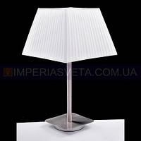 Лампа настольная в декоративном стиле светильник одноламповый с абажуром KODE:465324