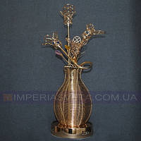 Лампа настольная в декоративном стиле светильник четырехламповый со светодиодной подсветкой KODE:503520