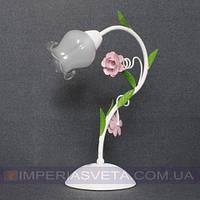 Лампа настольная в декоративном стиле светильник одноламповая KODE:524626