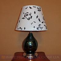 Лампа настольная в декоративном стиле ночник одноламповый с абажуром KODE:463404