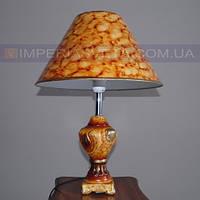 Лампа настольная в декоративном стиле ночник одноламповый с абажуром KODE:442455