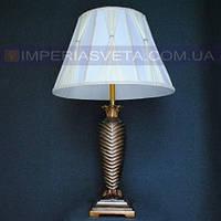 Лампа настольная в декоративном стиле ночник одноламповый с абажуром KODE:505125