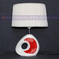 Лампа настольная в декоративном стиле ночник одноламповая KODE:526111