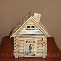 Декоративная лампа соляная светильник домик KODE:443561