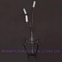 Торшер напольный со столом  с плафонами KODE:354611