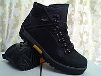 Зимние нубуковы ботинки Detta СКИДКА!