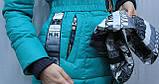 Пуховик куртка женская, фото 4