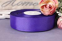Лента репсовая 2,5 см оптом фиолетового цвета, фото 1