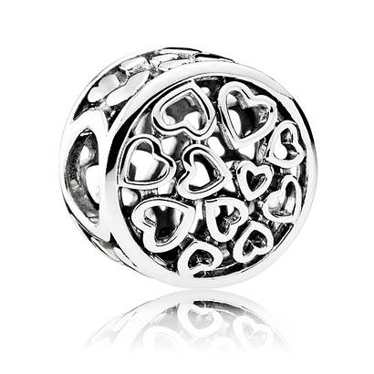 Шарм «Сентиментальность» из серебра 925 пробы