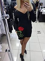 "Женское  платье-туника ""Роза""  ИТ 1011-NW"