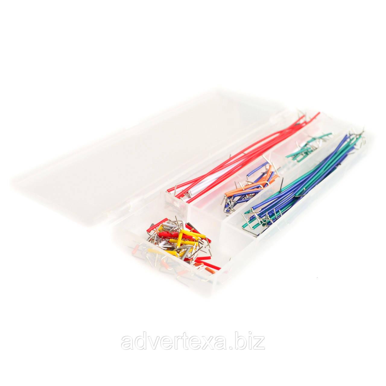 Набор U-образных кабелей-перемычек 140 штук