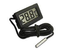 Термометр с ЖК экраном и внешним датчиком