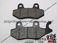 Тормозные колодки дисковые TKD-03 GXmotor