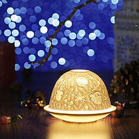"""Подсвечник-литофан """"Новый год и Рождество"""", фото 1"""