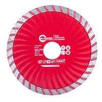Диск отрезной Turbo алмазный 115мм; 22-24% INTERTOOL CT-2006, фото 1