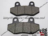 Тормозные колодки дисковые TKD-05 GXmotor