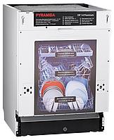 Pyramida DP 14 Premium (600 мм.) 8 программ на 14 комплектов, полновстраиваемая посудомоечная машина