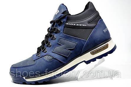 Мужские зимние ботинки в стиле New Balance, Синие, фото 2