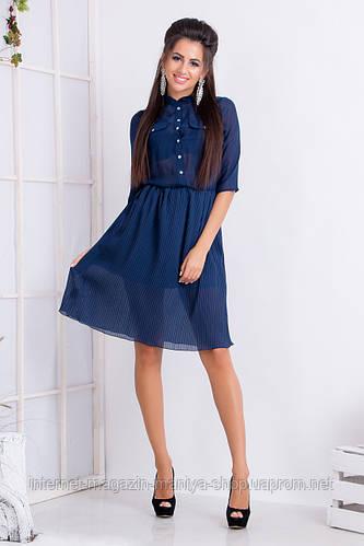 Платье женское рубашка