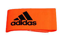 Капитанская повязка на липучке Adidas  Оранжевый