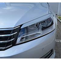 Реснички на фары Volkswagen Passat B7 2010+ г.в. Пасат Б7