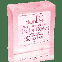 """Натуральное мыло ручной работы """"Белла роза"""", 85 г"""