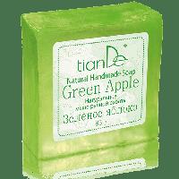 """Натуральное мыло ручной работы """"Зелёное яблоко"""", 85 г"""