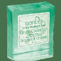 """Натуральное мыло ручной работы """"Зеленый огурец"""", 85 г"""