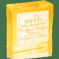 """Натуральное мыло ручной работы """"Тропическое манго"""", 85 г"""