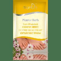 """Солевая ванна для ног """"Китайские травы"""", серия Master Herb, 50 г"""