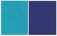 Набор фетр листовой_синеголубой 3,0 мм
