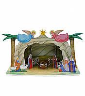 Картонная модель Рождественский вертеп 271 Умная бумага