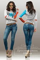 Женские молодежные джинсы