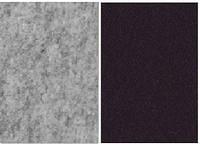 Набор фетр листовой_черный, серый меланж 3,0 мм