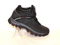 Зимние мужские кожаные ботинки ECCO 44р., фото 1