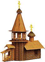 Картонная модель Деревянная церковь 039 Умная бумага