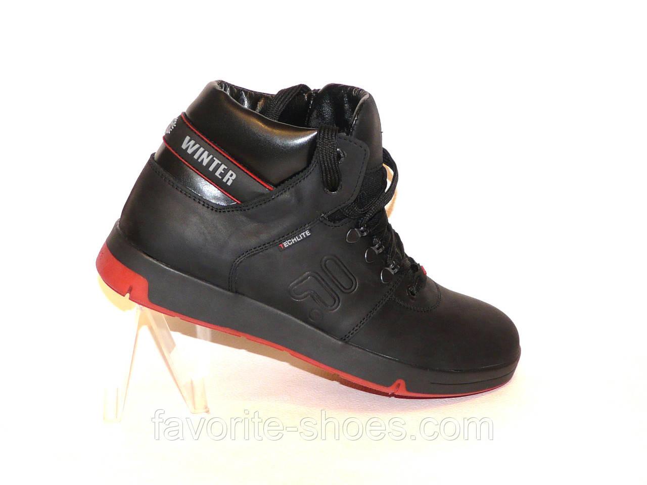 Зимние мужские кожаные ботинки Fola Winter
