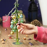 Елочка из художественного стекла - новогодний шик